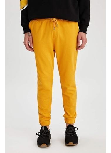 DeFacto Eşofman Altı Sarı